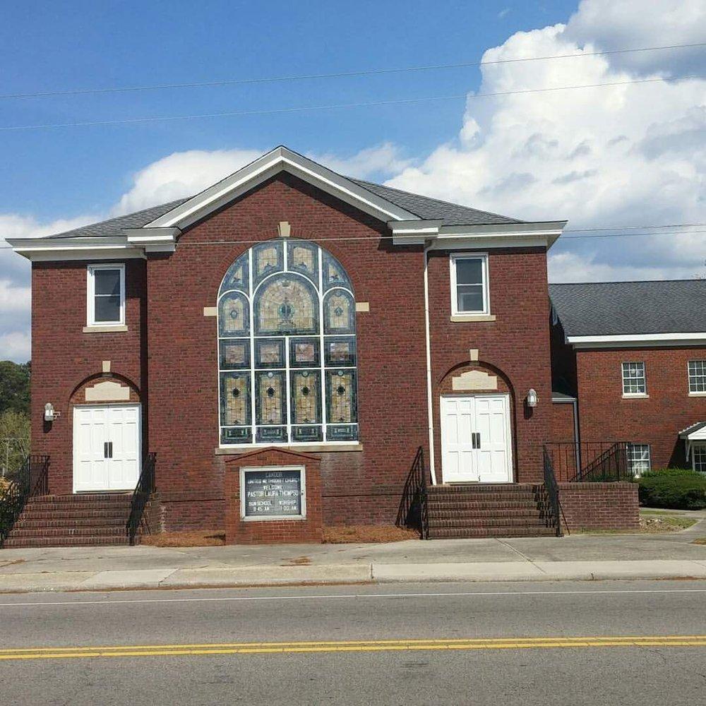 Candor United Methodist Church: 203 N Main St, Candor, NC