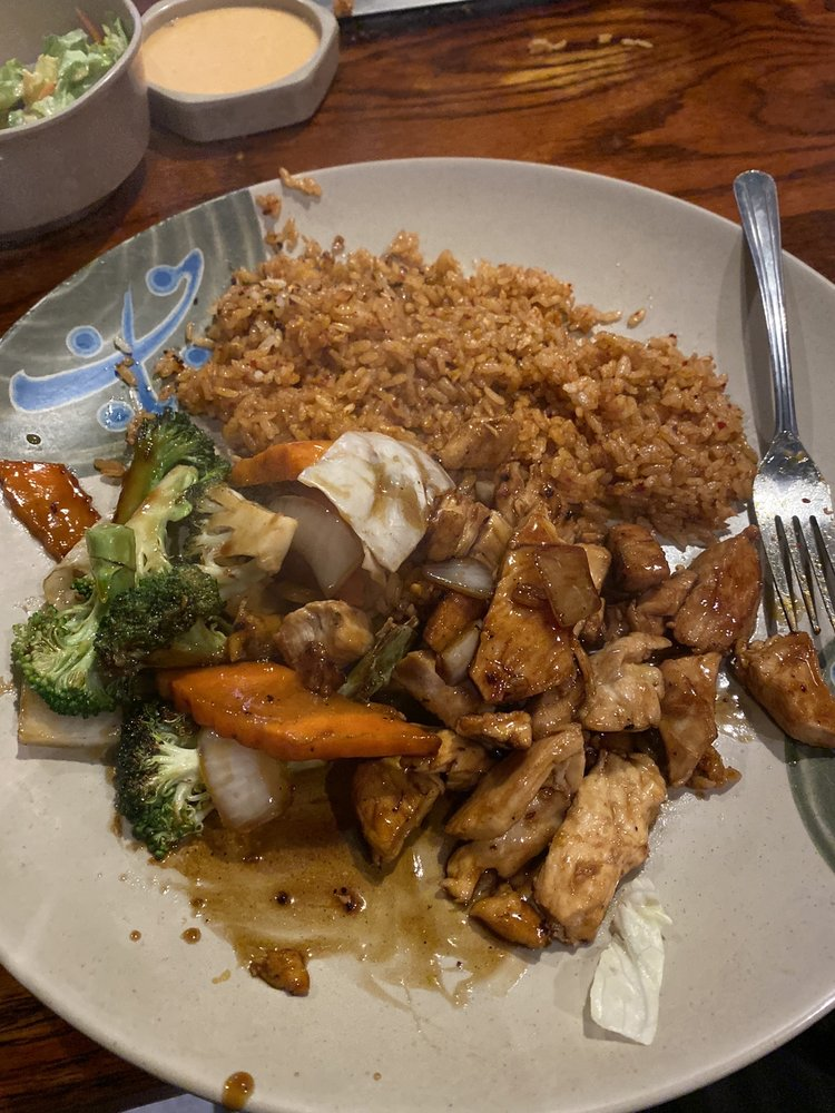 Food from Koi's Japanese Hibachi and Sushi