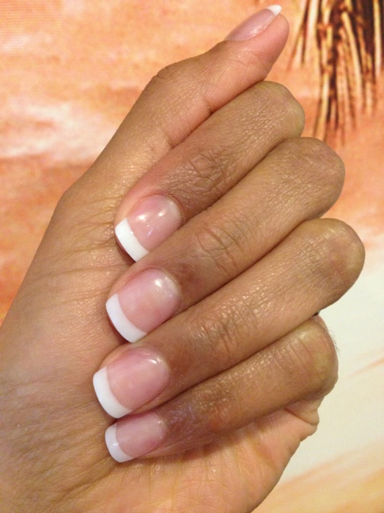 More pink and white pictures! They\'re so thin and natural looking ...