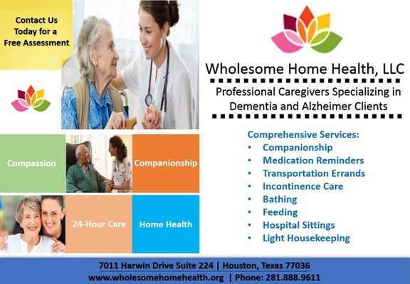 Fantastic Wholesome Home Health 7011 Harwin Dr Ste 224 Houston Tx Home Interior And Landscaping Synyenasavecom
