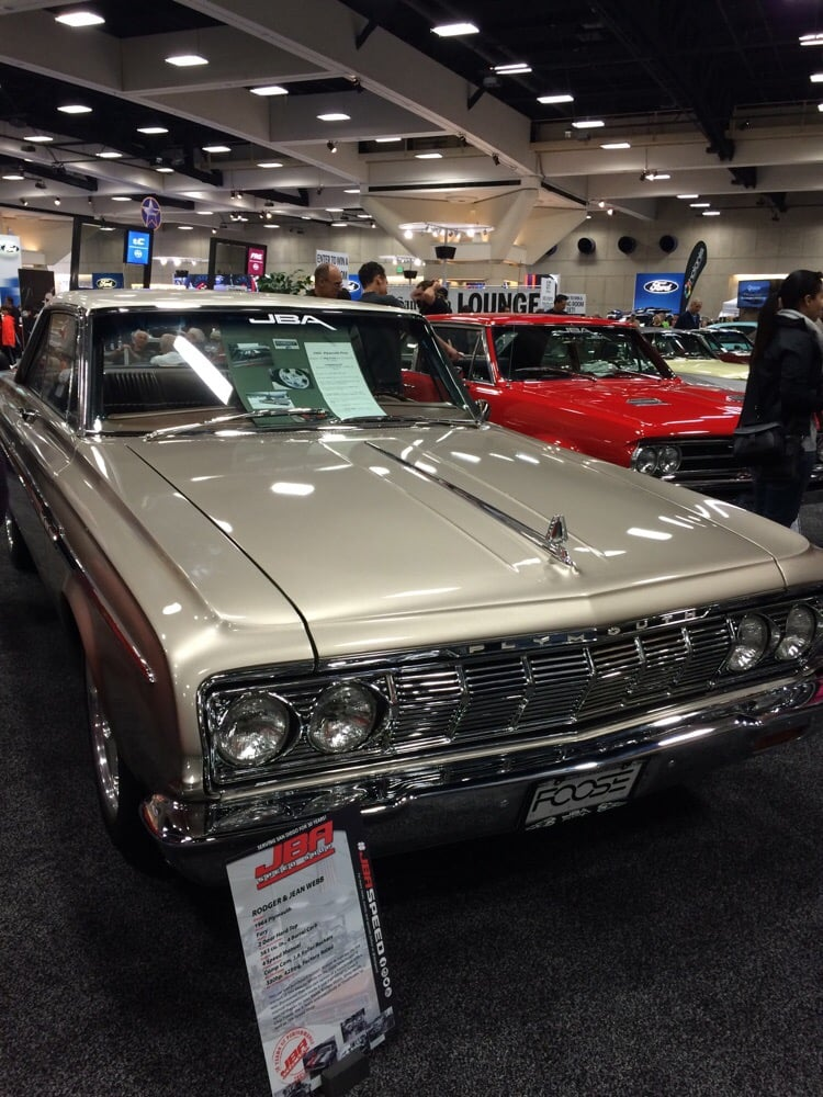 Plymouth Fury Designed By Chip Foose For Overhaulin Yelp - San diego convention center car show