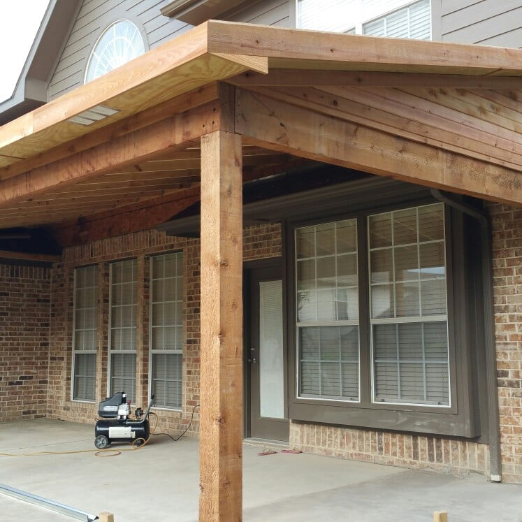 Photo Of DFW Renovation Experts   Roanoke, TX, United States. Cedar Patio  Cover