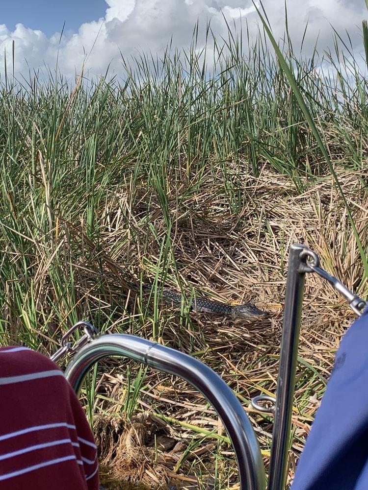 Airboat Wilderness Rides: Country Road 512, Vero Beach, FL