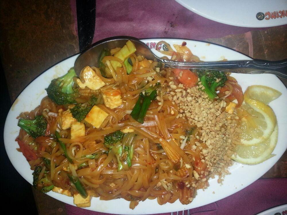 ... New Hyde Park, NY, United States. Vegetable & tofu Pad Thai Noodles