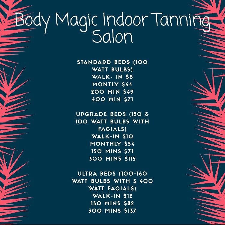 Body Magic Tanning Salon: 726 E Main St, Lebanon, OH