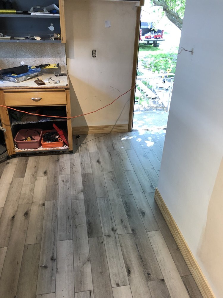 Installing Flooring And Baseboard Yelp