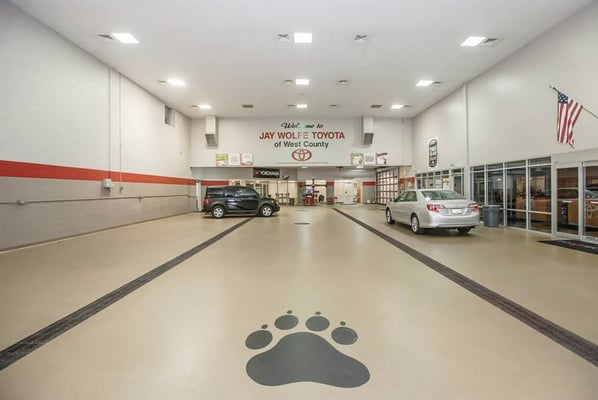 jay wolfe toyota of west county 14700 manchester rd ballwin, mo