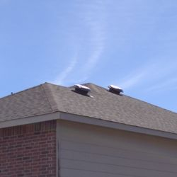 Photo Of Ku0026L Roofing   Arlington, TX, United States. Damaged Vents Not  Replaced