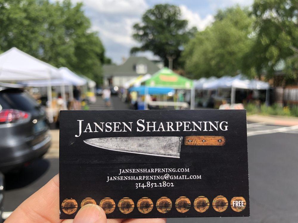 Jansen Sharpening: Saint Louis, MO