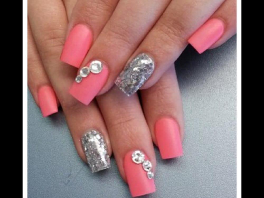 Nails full set gel design @ C and K nails - Yelp