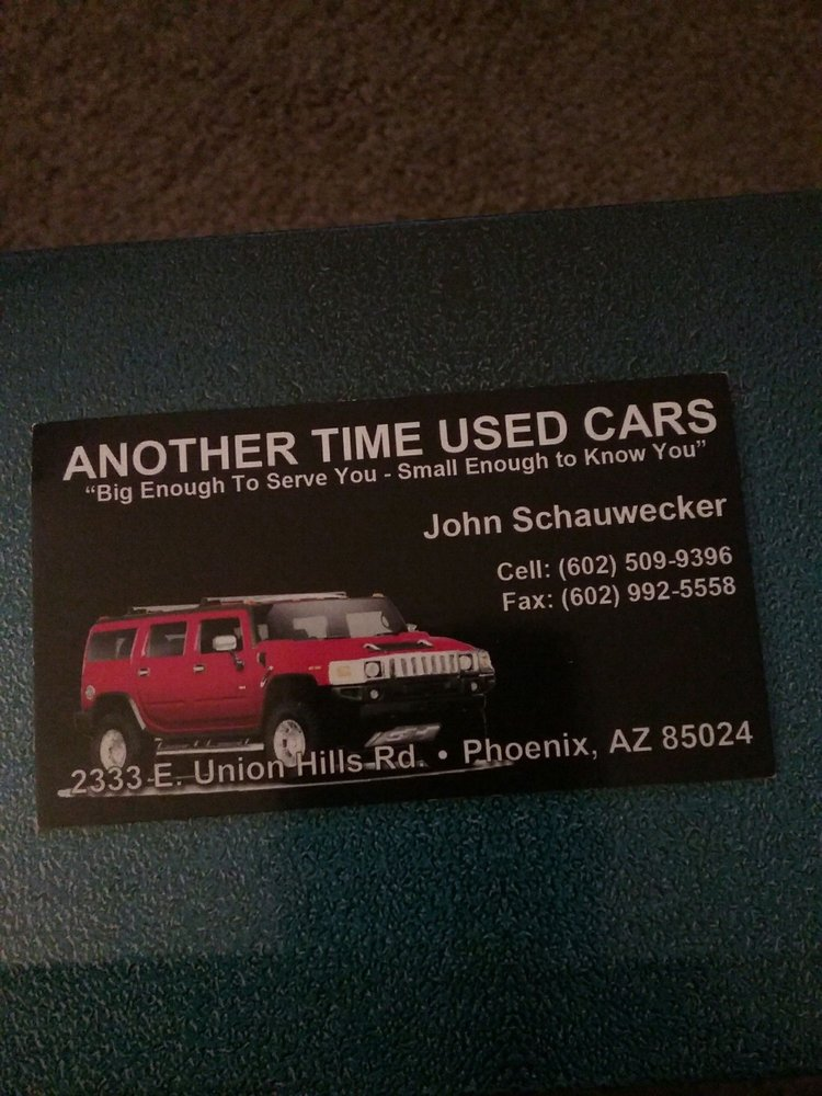 Used Cars Phoenix >> Another Time Used Cars 2019 All You Need To Know Before You Go