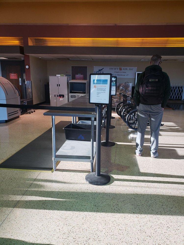 Lawton-Ft Sill Regional Airport: 3401 SW 11th St, Lawton, OK