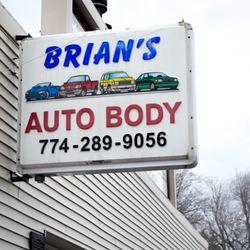 Brian S Auto Body Body Shops 37 Main St Spencer Ma