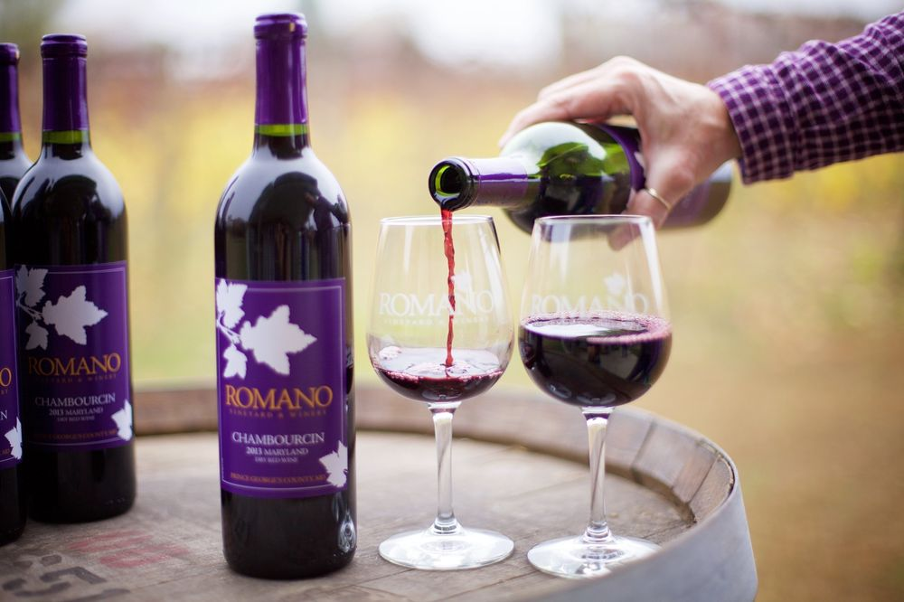 Romano Vineyard & Winery: 15715 Bald Eagle School Rd, Brandywine, MD