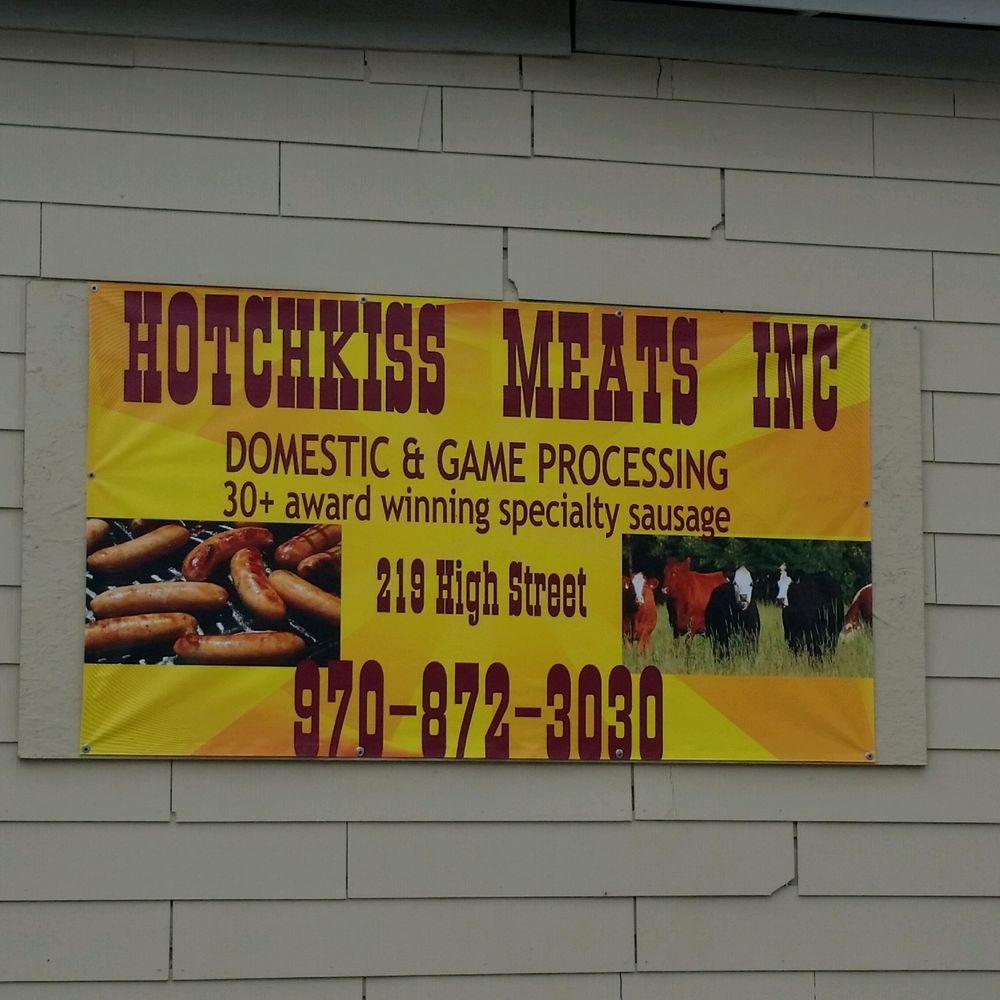 Hotchkiss Meats: 219 High St, Hotchkiss, CO