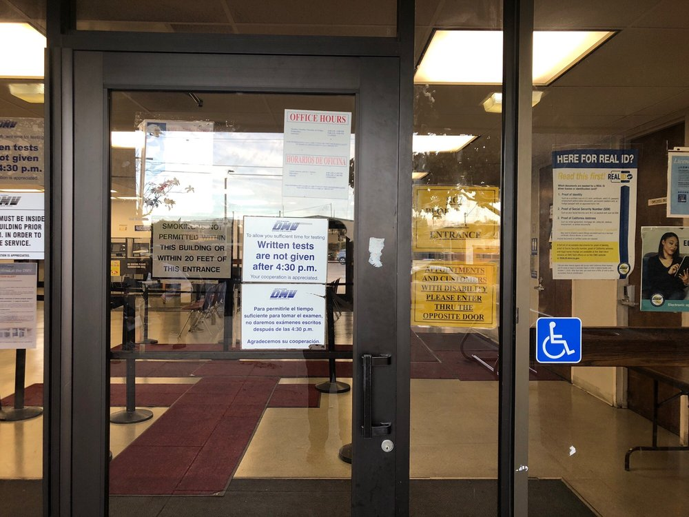 Department of Motor Vehicles: 425 N Amphlett Blvd, San Mateo, CA
