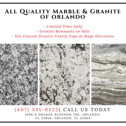 All Quality Marble & Granite - Contractors - 4190 N Orange
