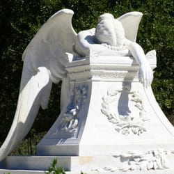 Angel of Grief at Stanford University Landmarks Historical