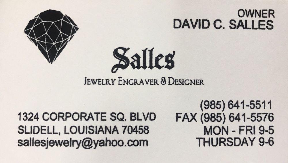 Salles Jewelry: 1324 Corporate Sq Dr, Slidell, LA