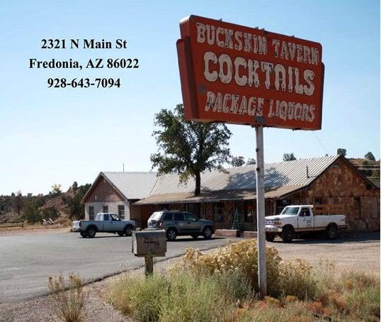 Buckskin Tavern: 2321 N Main Rd, Fredonia, AZ