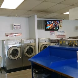 laundromat at doing Naked laundry