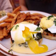 ... Photo of The Beehive - Boston, MA, United States. Spinach Benedict yum!