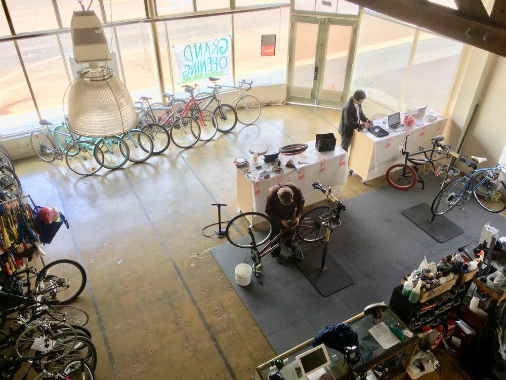 The Ventura Bike HUB: 490 Ventura Ave, Ventura, CA