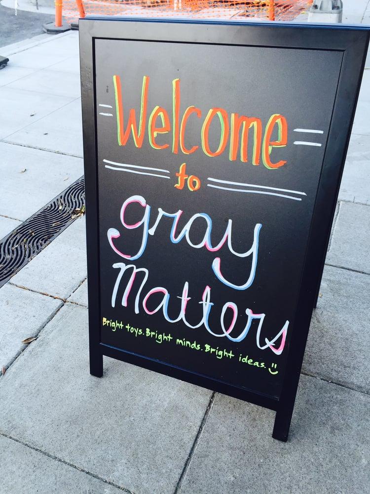 Gray Matters: 330 California, Palo Alto, CA