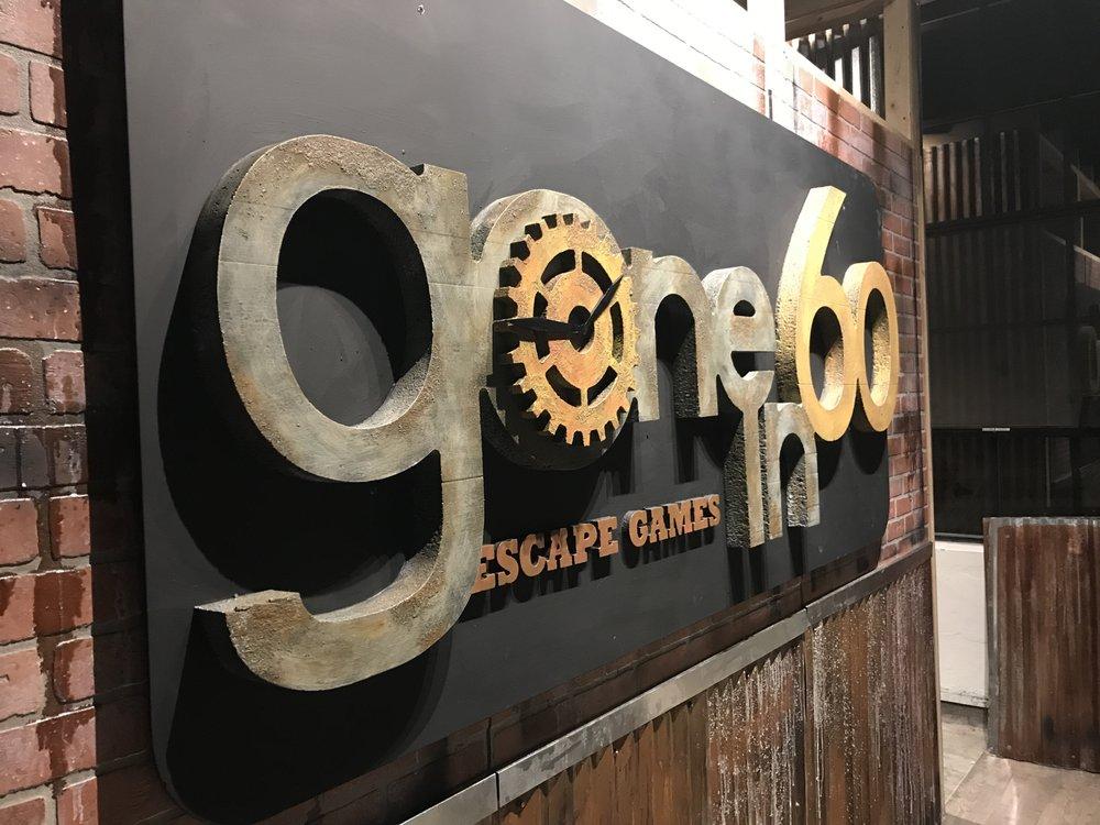Gone In 60 Escape Games: 1001 SW Washington, Peoria, IL