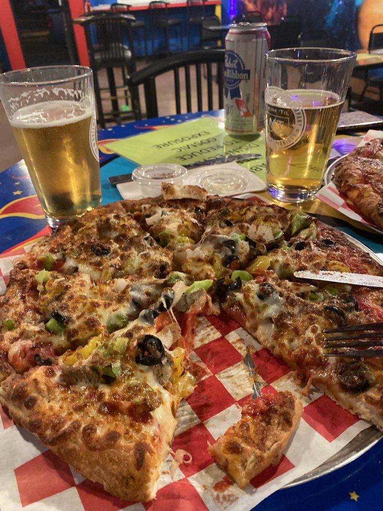 Cosmic Pizza - Belgrade: 27 W Main St, Belgrade, MT