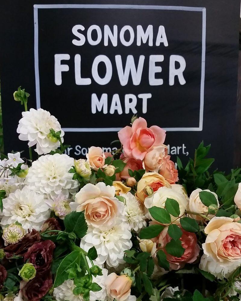 Sonoma Flower Mart: santa rosa, CA