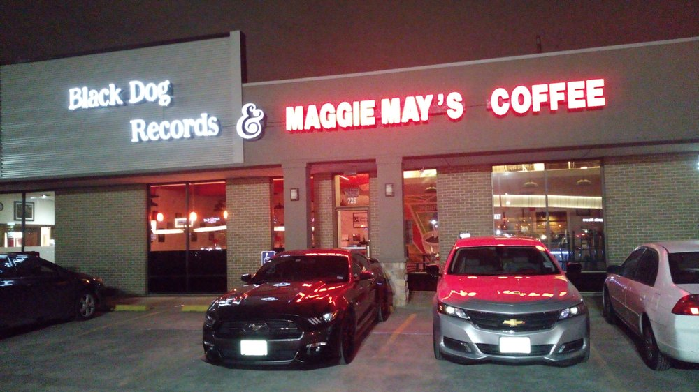 Black Dog Records & Maggie May's Coffee