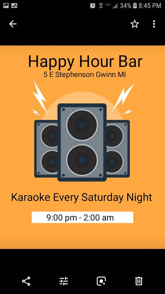 Happy Hour Bar: 5 E Stephenson Ave, Gwinn, MI