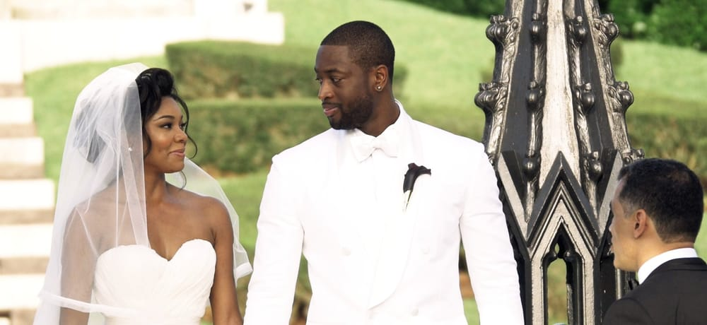 Gabrielle Union Wedding.Dwyane Wade And Gabrielle Union At Their Fairy Tale Castle