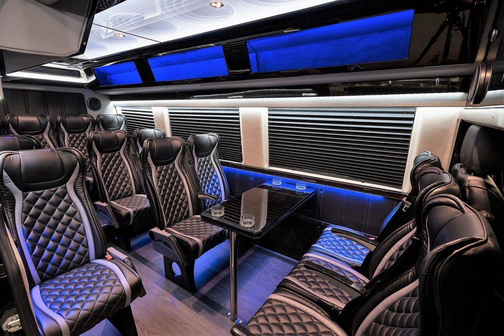 Luxury Mercedes Benz Sprinter Van 14 Passengers 14