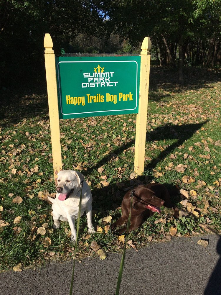 Happy Tails Dog Park/Summit Park District: 5700 S Archer Rd, Summit, IL