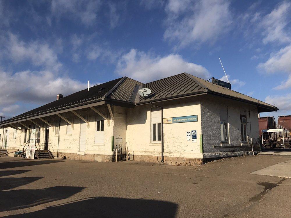 Amtrak Station: 424 1st Ave S, Glasgow, MT