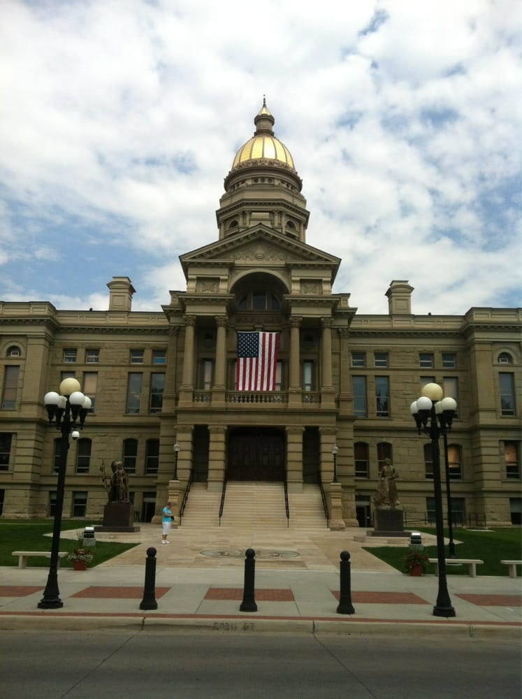 Wyoming's Capitol building in Cheyenne, WY - Yelp