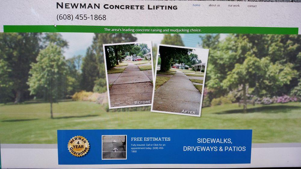 Newman Concrete Lifting, LLC: 4577 Rome Corners Rd, Brooklyn, WI