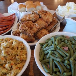 Photo Of Amish Door Restaurant   Wilmot, OH, United States. Family Style  Meal