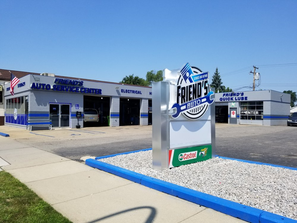 Friend's Auto Service & Repair Center: 28818 Ford Rd, Garden City, MI