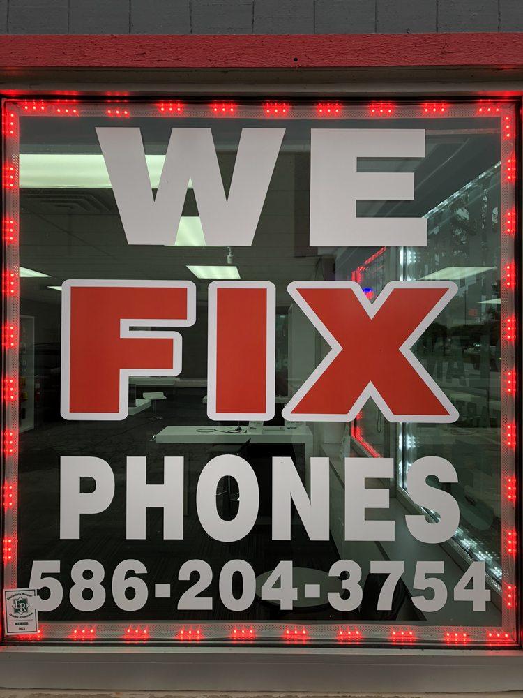 Prepaid and Phone Repair store: 23300 Gratiot Ave, Eastpointe, MI