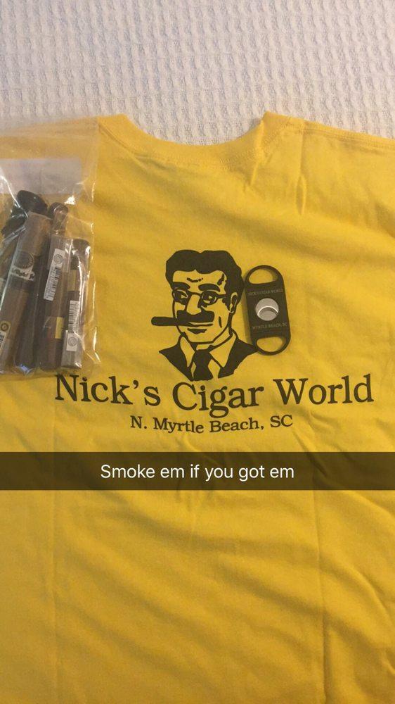 Nick's Cigar World: 2705 Hwy 17 S, North Myrtle Beach, SC