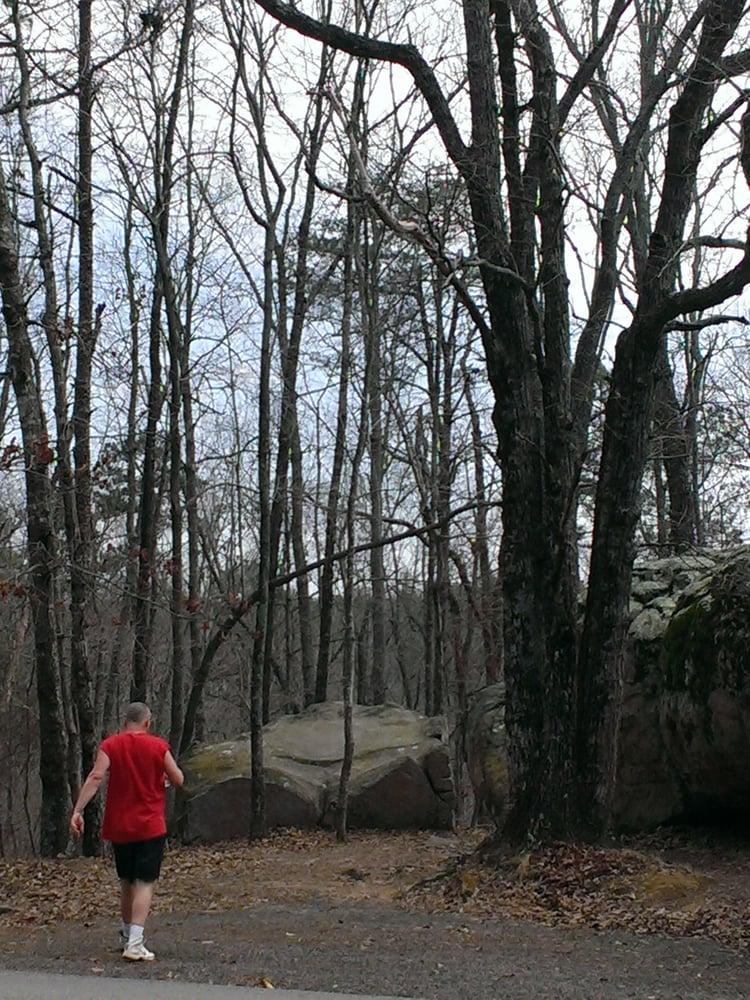 Mushroom Rocks: Little River Canyon Rim Scenic Dr, Fort Payne, AL