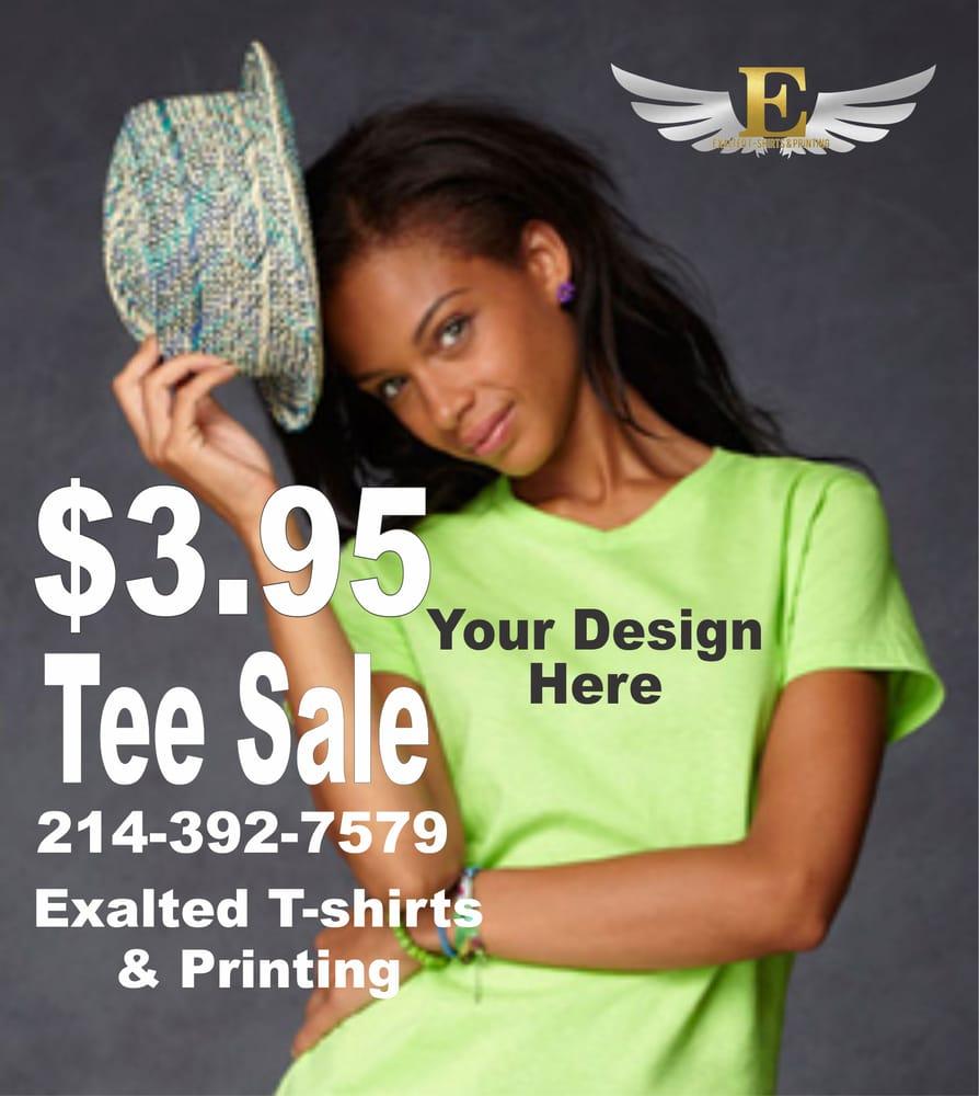Exalted T-shirts & Printing