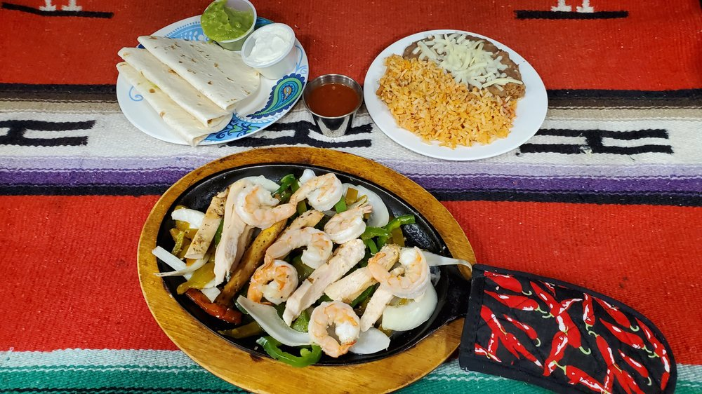 Food from Los Panchos Mexican Restaurant