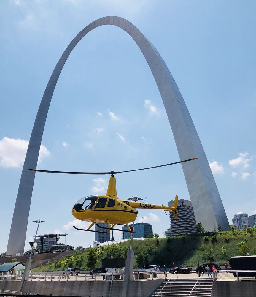 Gateway Helicopter Tours: 50 N Leonor K Sullivan Blvd, St. Louis, MO