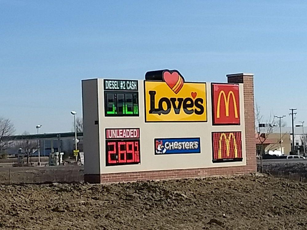 Love's Travel Stop: 3191 Capac Rd, Capac, MI