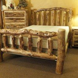 Charming Photo Of Greenawalt Furniture   West Newton, PA, United States. Aspen Log  Bedroom