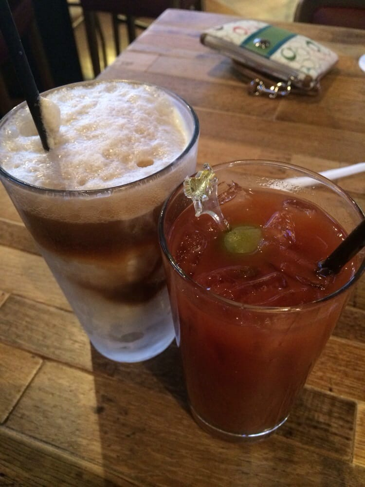 ... Bar - Las Vegas, NV, United States. Root beer float and Bloody Mary